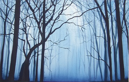 Artist:Benjamin Casiano  Title: Snow is coming