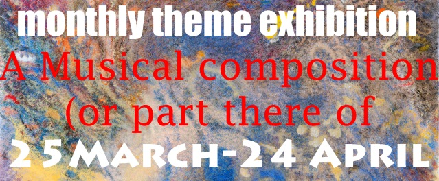 Monthly theme March exhibition
