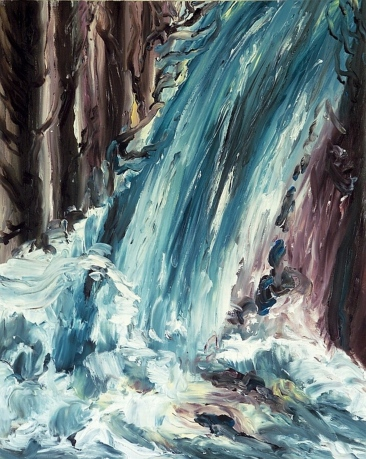 Artist: Laara WilliamsenTitle: Waterfall