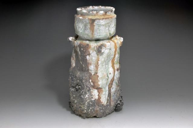 Artist: Shiho KanzakiTitle: Small iga Vase -1