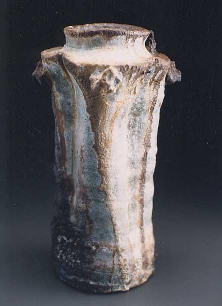 Artist: Shiho KanzakiTitle: Tall iga Vase -2