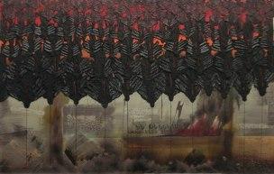Artist: Lloyd Knowles Title: Black Angels view 1
