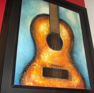 Artist Ashish Bhatia Title: Guitar notes