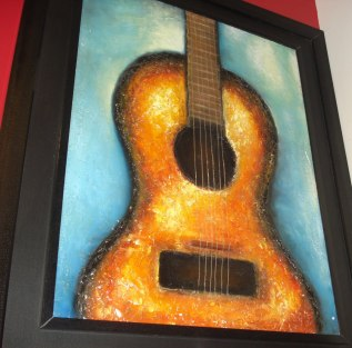 Artist Ashish Bhatia Title: Guitar notes