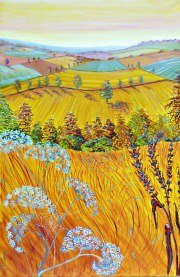 Artist: Heather Bell Tilte; Fields of Gold