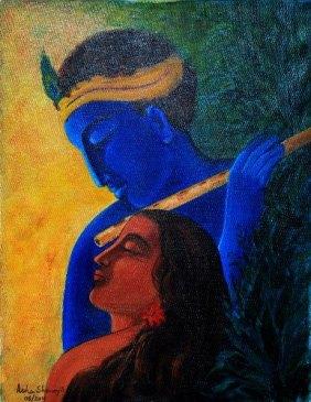 Artist: Asha Sudhaker Senoy Title: Krishna
