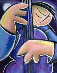 Artist: Benjamin Casiano Title: Music man