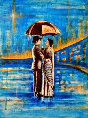 Artist: Usha Shantharam Title: Pyar Hua