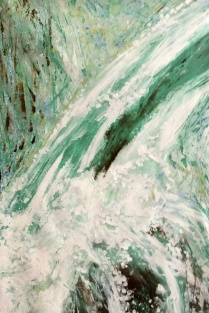 "Artist: Laara Williamsen Title: Element 19 WATER Size: 24"" x 36"""