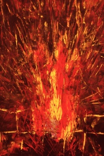 "Artist: Laara Williamsen Title: Element 20 FIRE Size: 24"" x 36"""