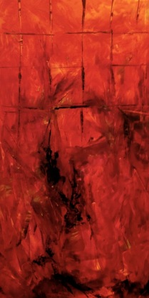 "Artist: Laara Williamsen Title: Element 6 FIRE Size: 18"" x 36"""