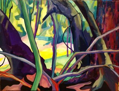 Artist: Peter Filzmaier Title: Beyond the garden