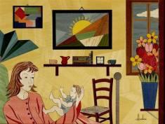 Artist: Antonino Gambino Title: Motherly Love