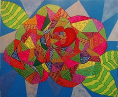 Artist: Wilma Burton Title: A Rose with a Heart