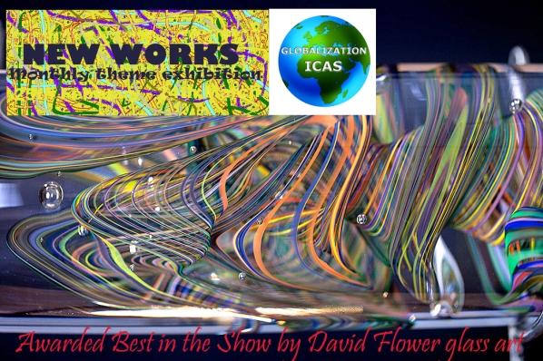 Awarded best in the show by David Flower glass art
