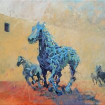 Artist: Durand Seay Title: Running with the horse