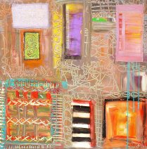 Artist: Johnny Johnston Title of Work Windows and Doors