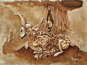Artist: J.P. Canale Title: Merlins Birth