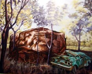 Artist: Stephen Kaldor Title: Monuments