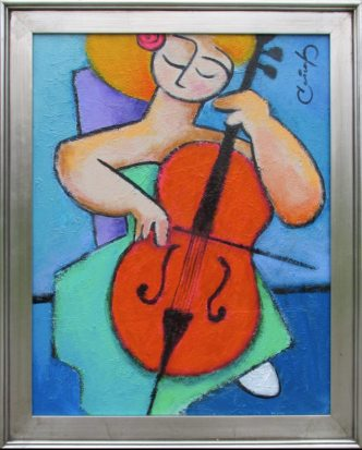 Artist: Benjamin Casiano Title: The reflection of music