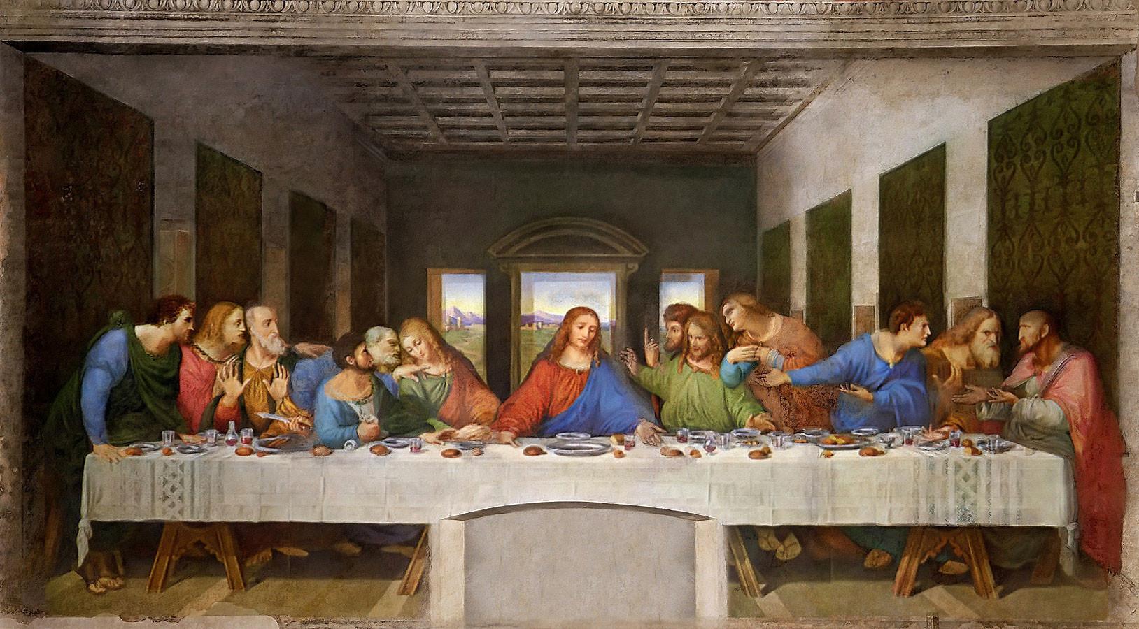 Leonardo Da Vinci The First Creative Genius ... Da Vinci Last Supper Restored