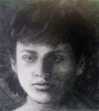 Artist: Herminia Haro Guzman Title: Gabo