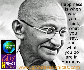 mahatma-gandhi happiness