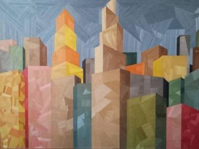 Artist: Antonino Gambino Title: Caos Architettonico