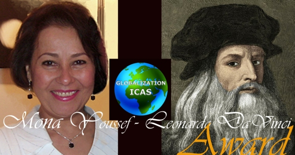 Mona Youssef  Leonardo DaVinci award