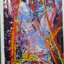 Stunning abstract by Romaine Kaufman Title: San Francisco