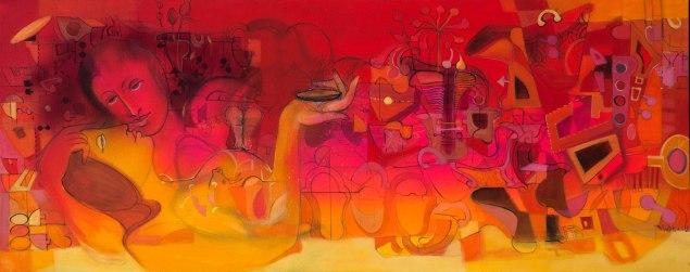 Artist: Madan Lal Title: UNTITLED
