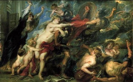 The-Consequences-of-War-1637-38 by Paul Rubens