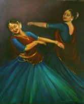 Artist: Asha Sudhaker Shenoy Title: The Dance of Joy