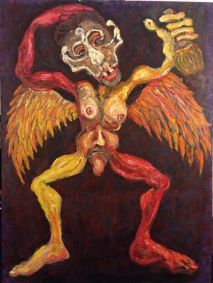 Artist: Mike Halem Title: The Drunk Angel Image 3