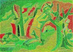 Artist: Nina Toktaman-Valetova Title: Celebration