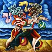 Artist: Yosef Reznikov Title: Tango Image 2