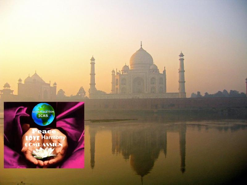 Taj Mahal 20th World Meditation Day large image