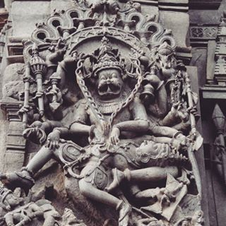 NARASIMHA half man and half Lion Avatar of VISHNU