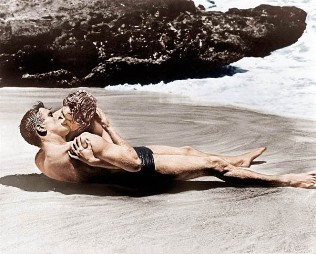 From here to Eternity 1953 Burt Lancaster and Decorah Kerr