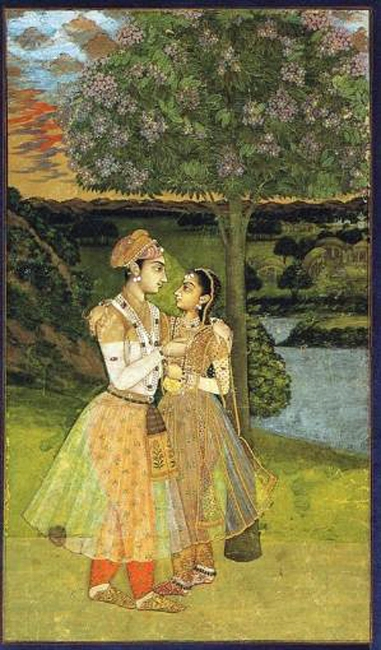 Mughal Royal lovers.