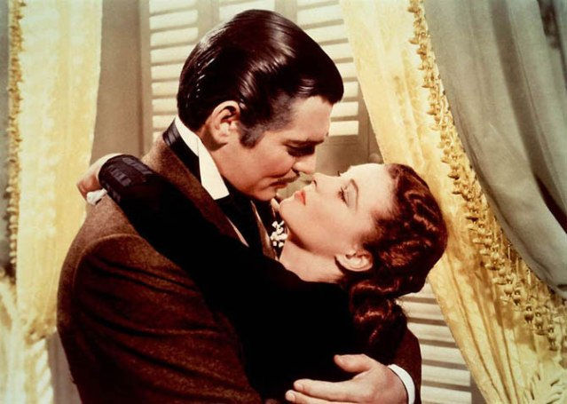 Scarlett 1939 Clark Gable and Vivien Leigh